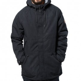 HOT BOX ANTI JACKET BLK - Parka Homme Rip Curl