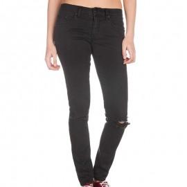 PINS DISTRESSED BLACK BLK - Jean super skinny Femme Rip Curl