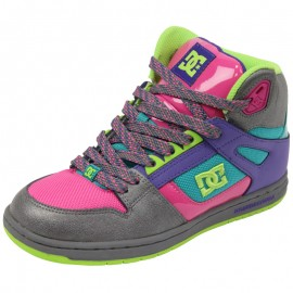 REBOUND HIGH SE BAP - Chaussures Femme DC Shoes