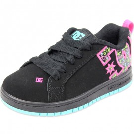 COURT GRAFFIK SE BPS - Chaussures Fille Dc Shoes