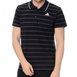 ESS YD POLO BLK - Polo Entrainement Homme Adidas
