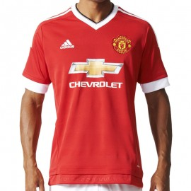 MUFC H JSY RED - Maillot Manchester United Football Homme Adidas