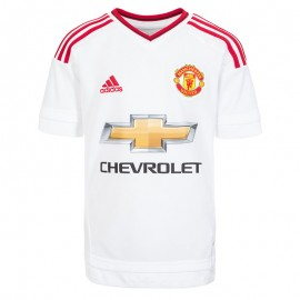 MUFC A JSY Y BLC - Maillot Manchester United Football Garçon Adidas