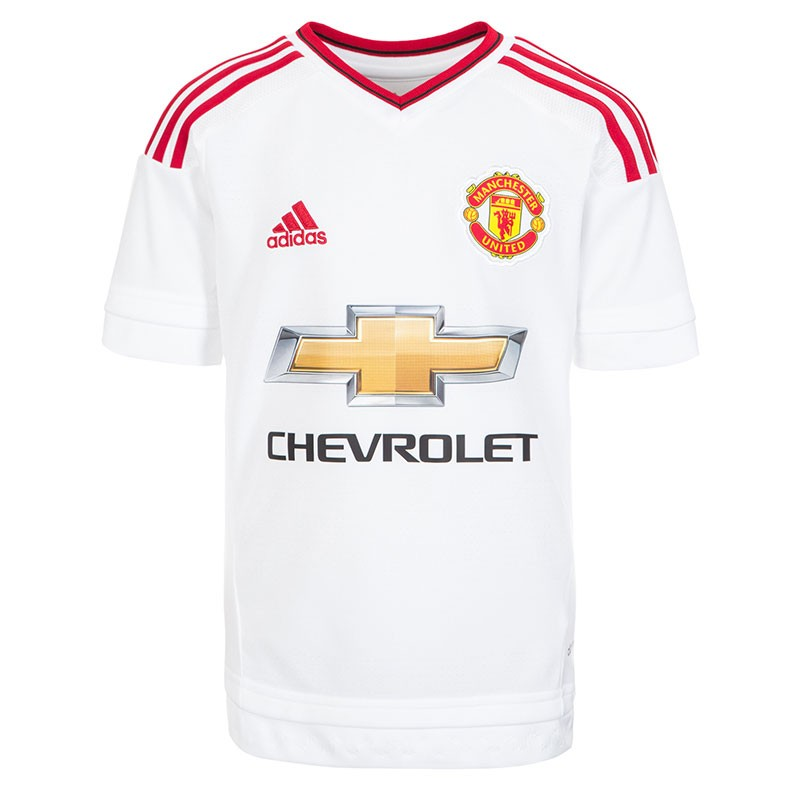 MUFC-A-JSY-Y-BLC-Maillot-Manchester-United-Football-Garcon-Adidas