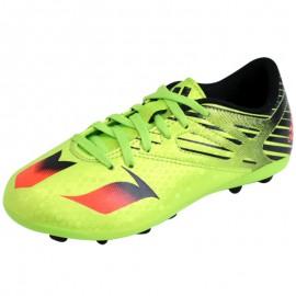 MESSI 15.4 FxG J VER - Chaussures Football Garçon Adidas