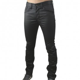 JEANS DIANOL BLK - Jean Homme Biaggo Jeans