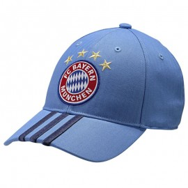 FCB 3S GK CAP BLE - Casquette Bayern Munich Football Homme Adidas