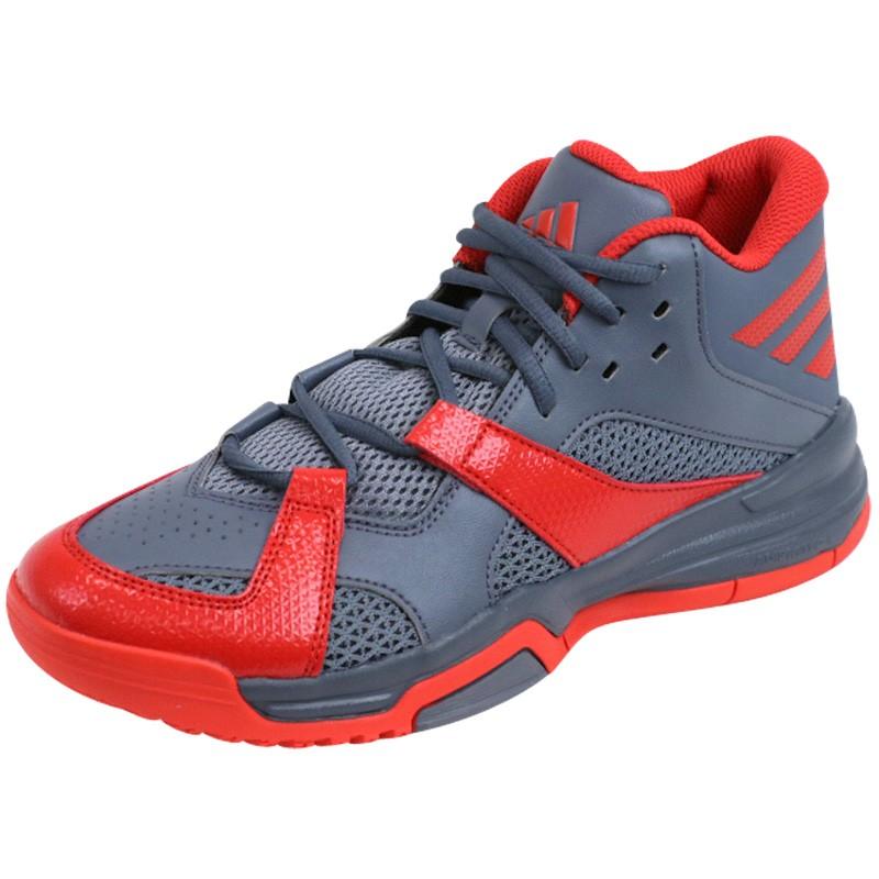more photos e4682 303de FIRST STEP GRI - Chaussures Basketball Homme Adidas