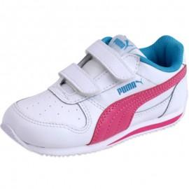 FIELDSPRINT LV  INF BLC - Chaussures Bébé Fille Puma