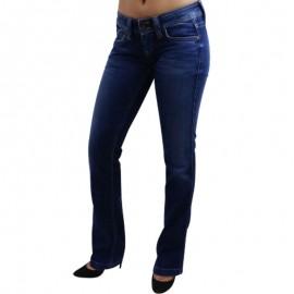 BANJI DNM - Jean Straight Femme Pépé Jeans