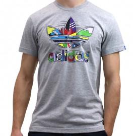 G SUMMER SPORT M GRI - Tee shirt Homme Adidas