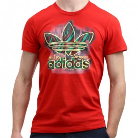G MIDNIGHT TEE M RGE - Tee shirt Homme Adidas