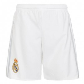 REAL H SHO Y BLC - Short Real Madrid Football Garçon Adidas