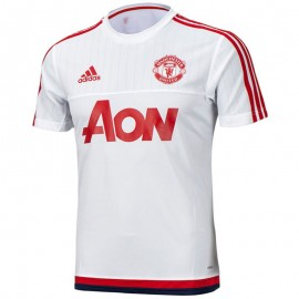 MUFC TRG JSY BLC - Maillot Manchester United Football Homme Adidas