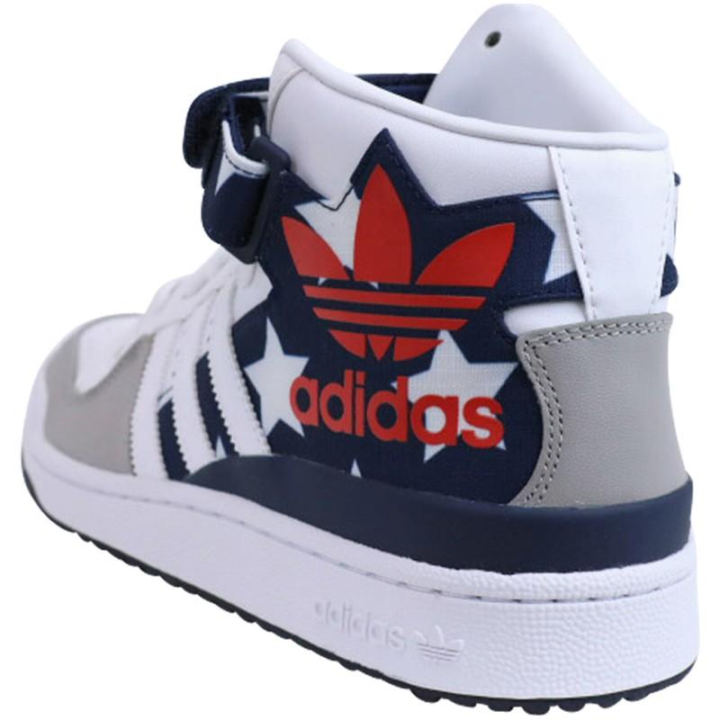 FORUM MID RS CL BLC - Chaussures Homme Adidas uq6eDbj