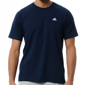 ESS CREW TEE M MAR - Tee shirt Entrainement Homme Adidas