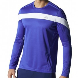 RSP LS T M BLE - Tee shirt Running Homme Adidas