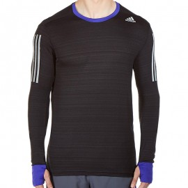 SN L/S M NR - Tee shirt Running Homme Adidas