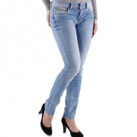 NEW BROOKE L322 DNM - Jean Slim Femme Pépé Jeans