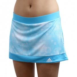 W GALAXY SKORT BLE - Jupe-short Tennis Femme Adidas