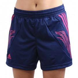 HB FK SHORT W NAV - Short Handball Femme Adidas