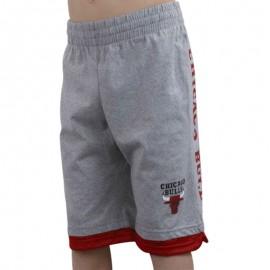 Short en coton Basketball Chicago Bulls Garçon Adidas