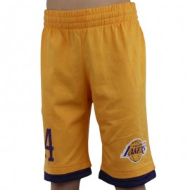 Short en coton Basketball LA Lakers Garçon Adidas