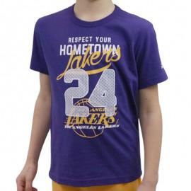 Tee shirt LA Lakers Basketball Garçon Adidas