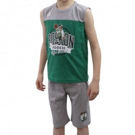 Ensemble Déberdeur+Short Boston Celtics Basketball Garçon Adidas