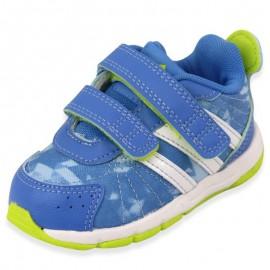 SNICE 3 CF I BLU - Chaussures Bébé Garçon Adidas