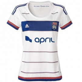 Maillot Olympique Lyonnais Femme Football Adidas