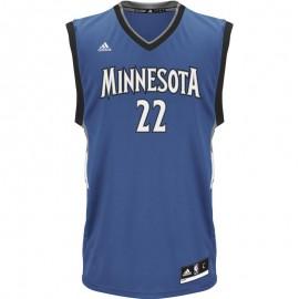 Maillot Réplica Minnesota Timberwolves Andrew Wiggins Basketball Homme Adidas
