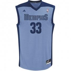 Maillot Réplica Memphis Grizzlies Marc Gasol Basketball Homme Adidas