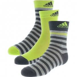 Chaussettes Stripy Ankle 3P Garçon Adidas