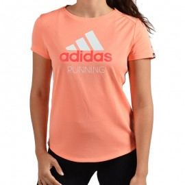 Tee-shirt Running Perf Logo Femme Adidas