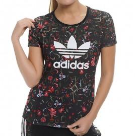 Tee shirt TREFOIL TEE Femme Adidas