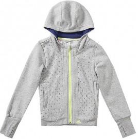 Veste à Capuche Hoodie Fille Adidas