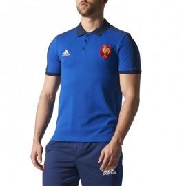 Polo FFR Rugby Homme Adidas