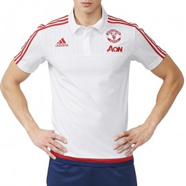 Polo Manchester United Football Homme Adidas