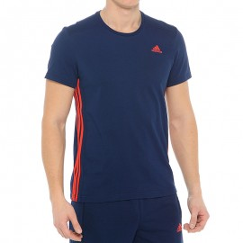 Tee shirt Ess Mid Entrainement Homme Adidas