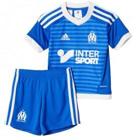 Minikit Olympique de Marseille Football Bébé Garçon Adidas