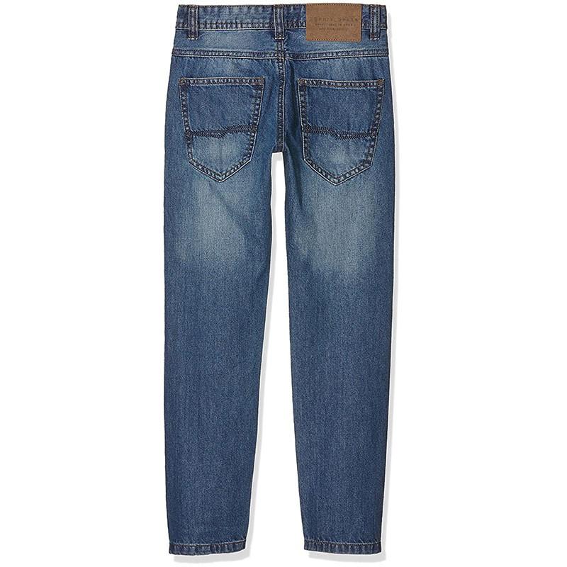 jean slim 5 poches gar on esprit pantalons. Black Bedroom Furniture Sets. Home Design Ideas