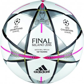 Ballon réplica Entrainement Finale Ligue des Champions Milan Football Adidas