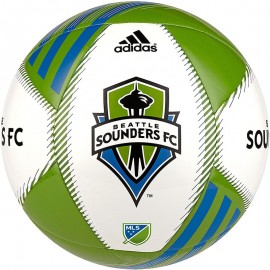 Ballon Seattle Sounders FC blanc Football Adidas