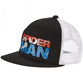 Casquette Noir Marvel SpiderMan Garçon Adidas