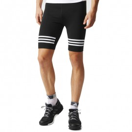 Collant Short Noir Response Running Homme Adidas