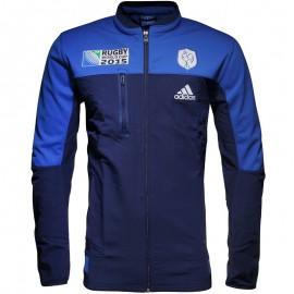 Veste Bleu France Coupe du Monde 2015 Rugby Homme Adidas
