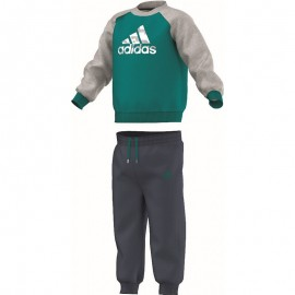Ensemble Vert Jogger Entrainement Bébé Garçon Adidas