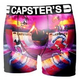 Boxer Capster's Skate rose Garçon Freegun