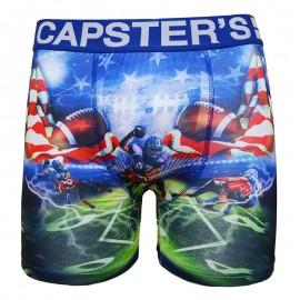 Boxer Capster's WGA bleu Homme Freegun